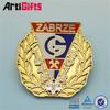 China factory supply metal figure lapel pin badge