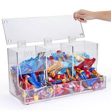 Clear acrylic plexiglass food display case