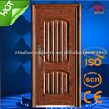 Esterno della porta di sicurezza, in acciaio porte interne in legno