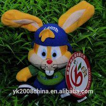 ICTI audit OEM factory custom stuffed toy rabbit wholesale