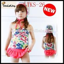 children swimwear 3 pcs with sexy thong bulk wholesale kids clothing