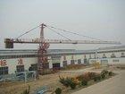 QTZ63, 6T construction machinery tower crane 5610B,double swing mechanism