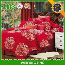 home textile printed bed clothes/cotton plain quilt/thin quilt