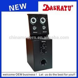 2.1speakers subwoofer,high bass wood 2.1 subwoofer speaker