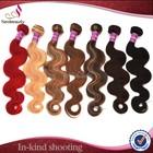 Neobeauty ombre hair weave colored three tone brazilian hair