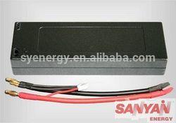motoring car battery 7.4V 5200mAh 30C lipos with with tamiya for 1:12 rc model car