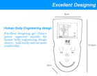neck and back massager new design pain relief tens machine massager physical therapy equipment