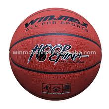 Winmax hot sale ball basketball,wholesale basketball brand,basketball leather ball