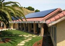 home solar power generator mobile solar generator 5000 w