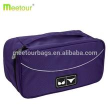 2015 hot sell honeycomb nylon Travel bra and underwear organizer bag Brand bra and underwear organizer bag