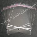 Envío gratis 5x10cm 3000 pcs/paquete de plástico transparente con cierre del opp autoadhesivas violonchelos/cellos bolsas colgando con cabecera muestras gratis