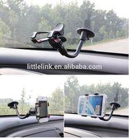 Universal Car Holder Windshield Mount Bracket for Iphone 5 Mobile Phone Holder Rotating 360 Degree