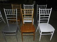 Hotsale wedding chiavari chair white aluminium chiavari chair used chiavari chair