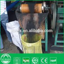 Semi-automatic convert waste tire into rubber powder machine