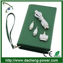 8000mAH high capacity best selling 5W sunpower folding solar panel