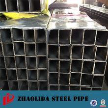 GB/T6725 best price square furniture black steel pipe