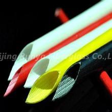 7mm Silicone Rubber coated Fiberglas insulation sleeve