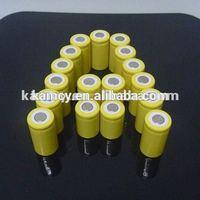 nicd 2/3aa 300mah 1.2V rechargeable battery ni-cd 300mah 2/3aa 1.2V rechargeable battery