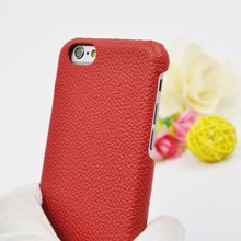 2015 trending hot products various color leather case for iphone 6