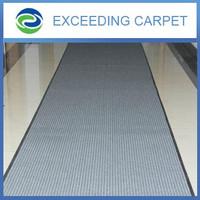 Anti-slip carpet strips for stairs