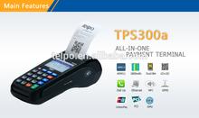 POS Terminal TPS300a hot sale Master card Casino game POS