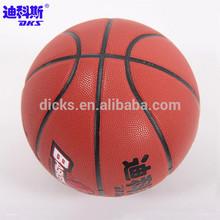 Custom Printed Shiny Basketball For Outdoor