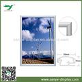 alumínio venda quente fácil mudar a foto de parede decorativo pendurado imagem frames