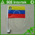 fabricants de porcelaine personnalisé tissu de haute qualité venezuela voiture drapeau fenêtre