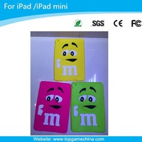 M Mr Bean Design silicone case for ipad 2/3/4/5 table pc