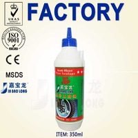 350ml Electric Bicycle Tyres Puncture Air Stop Leaking Liquid Tire Sealant Prices