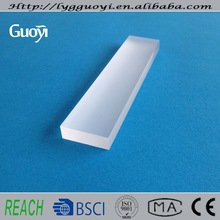 Clear fused silicon frosted glass plate
