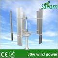 Green power 30w portable mini éolienne/d'éoliennes.