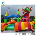 Gigante parque inflável da água, crianças parque aquático do jogo, novo parque aquático design