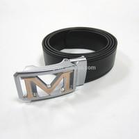 cold resistant waterproof pvc leather belt for men
