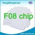 Caliente 13.56 mhz rfid clásico F08 de control de acceso de la tarjeta inteligente