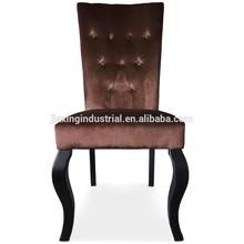 high back velvet fabric dining chair NC12 / velvet dinning chair NC12 / dining chair in 2014 NC12