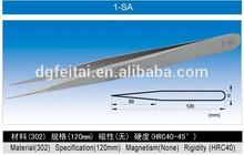 Vetus 1-SA Pointed Tweezer / Stainless Steel Tweezers