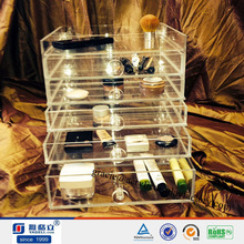 16 Years Factory Experience High Quality Perspex Makeup Storage