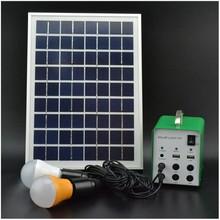 Professinal custom 5w solar lighting kits with beatiful design