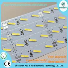 High brightness NEW style smd 8520 led rigid strip 72pcs leds 12mm width