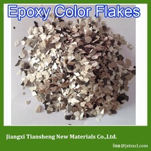 Factory Direct Sale Decorative concrete Epoxy Shield Seamless Color Chips Flooring