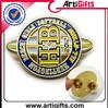 Free samples metal letters pin badge