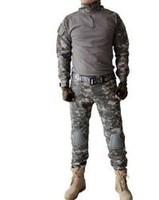 Outdoor Equipment Men's 30% Cotton 70% Lycra ACU Tight Wicking Combat Suit