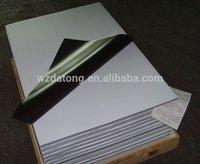 rubber magnet coated PP/PET for inkjet print