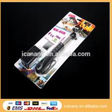 2014 high quality selfie stick extendable hand held monopod,monopod selfie stick with mirror and zoom,bluetooth selfie stick