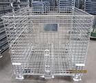 Mesh Folding Wire Pallet Storage Cage