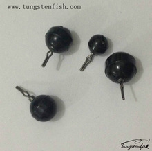 tungsten fishing sinker/tungsten round drop shot
