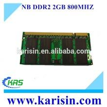 Low density ddr 2 2gb ram 800mhz in cheap price