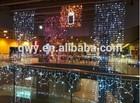 Christmas curtain light