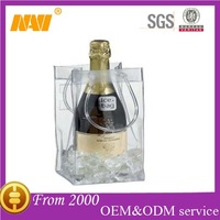 chinese professional factory produce pvc ice bag for wine